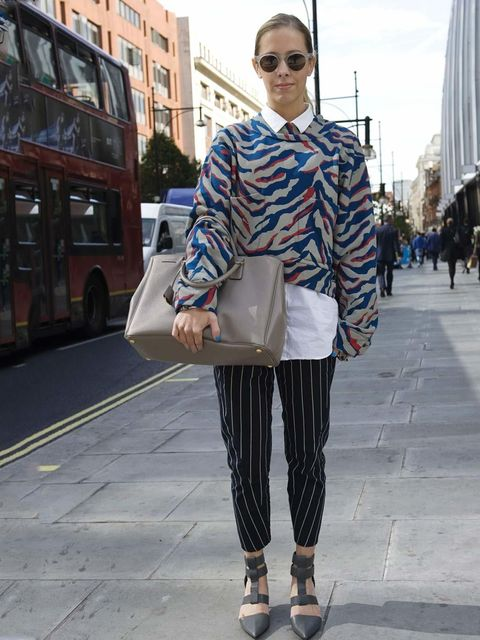<p>London Street Style Spring Summer 13</p>