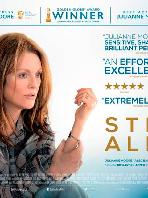 <p>FILM: Still Alice</p>  <p>In this Oscar-winning perfromance the incredible Julianne Moore portrays a professor who is diagnosed with early-onset Alzheimer's disease. Following the devastating news Alice grapples to hold on to the memories and people sh