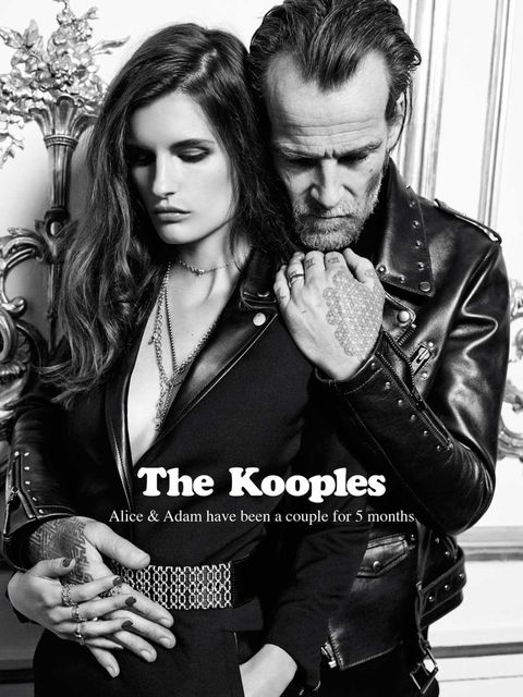 <p>Alice Gomme and Adam Holden for The Kooples, a/w 2013</p>