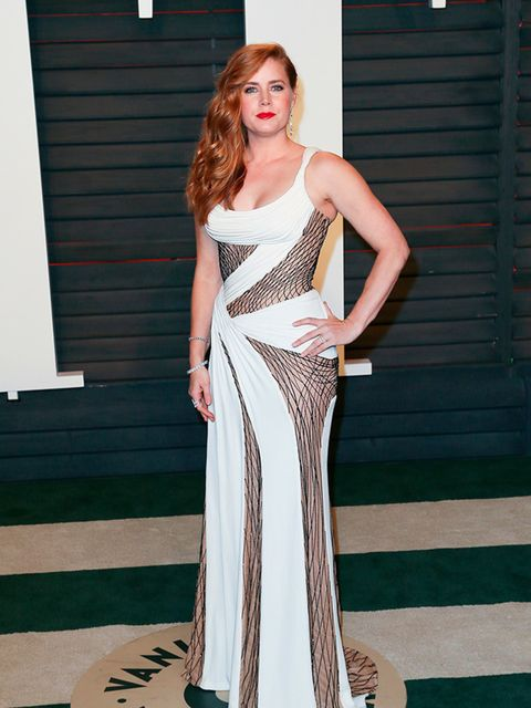 Amy Adams at the Vanity Fair Oscar's party in LA, February 2016.