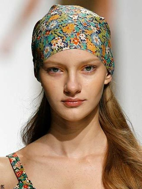 <p>HeadscarvesHeadscarves are the only headgear to be seen in next summer – seen again on the catwalks in Paris at Cacharel. If you're feeling brave take your cue from Vivienne Westwood and Dries Van Noten who have ramped up this look up for next summer w