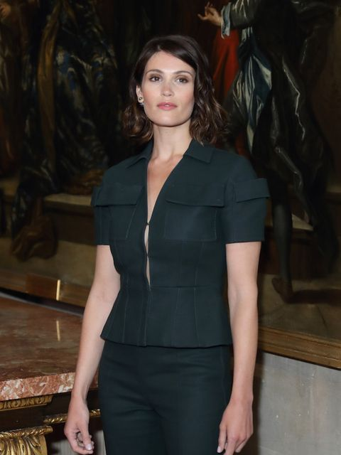 Gemma Arterton looked stunning as she attended the Dior Cruise SS17 show at Blenheim Palace