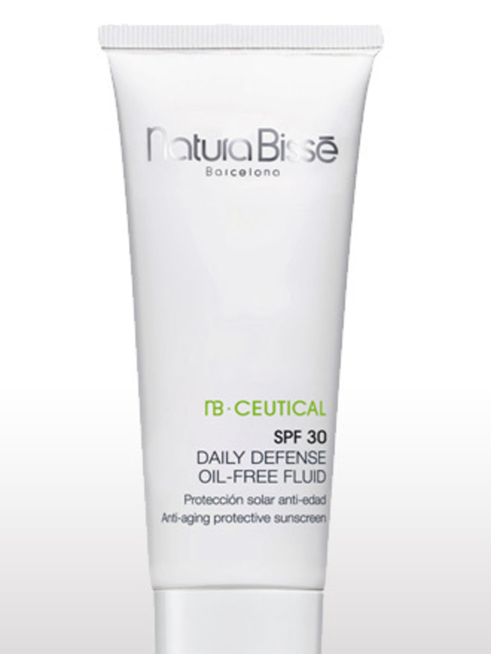<p>This new range from Natura Bisse was specially formulated with chronic inflammation in mind. Use NB.Ceutical SPF 30 Daily Defense Oil-Free Fluidwith its Pro-Tolerance Peptide Complex (a combination of 30 ingredients that fight inflammation on every lev