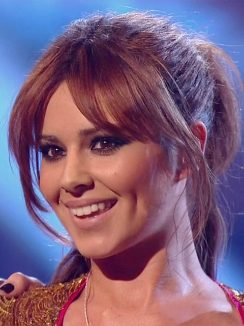 <p>Cheryl Cole and her 'we want it now' hair</p>