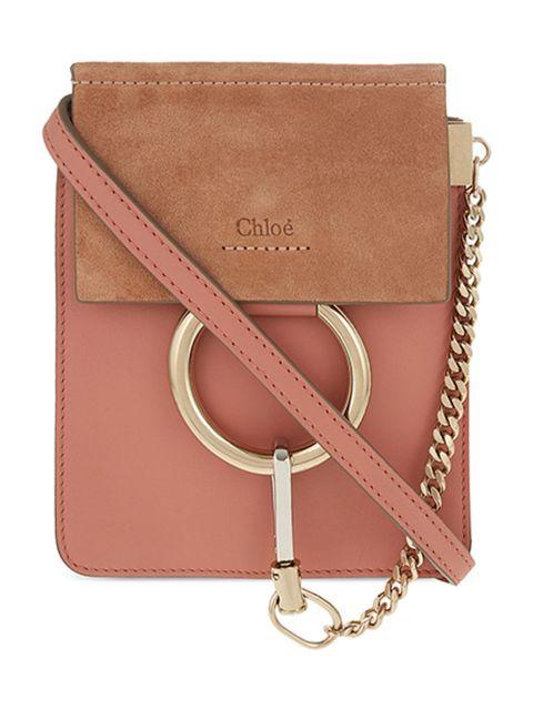 "<p>Faye bag, £575, <a href=""http://www.selfridges.com/GB/en/cat/chloe-faye-mini-bracelet-leather-shoulder-bag_221-3001525-3S1229H2O/?previewAttribute=Misty+rose"">Chloe at Selfridges</a></p>"