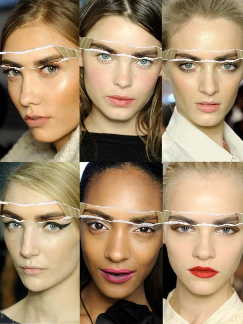 <p>Trust Christopher Bailey's girls to set the standard when it comes to bold, beautiful brows this summer. Now firmly a staple in our make-up repertoire we've imagined them with six of our favourite SS12 looks, proving just how versatile they can be…</p>