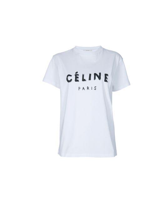 "<p>Celine printed T-shirt, £214, at Farfetch</p><p><a href=""http://shopping.elleuk.com/browse?fts=celine+t-shirt"">BUY NOW</a></p>"