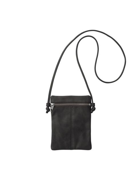 """<p>Heading to a festival this year? Then you'll understand why this cheap-and-cheerful, hands-free carry-all is so perfect… <a href=""""http://www.monki.com/"""">Monki</a> mini bag, £8</p>"""