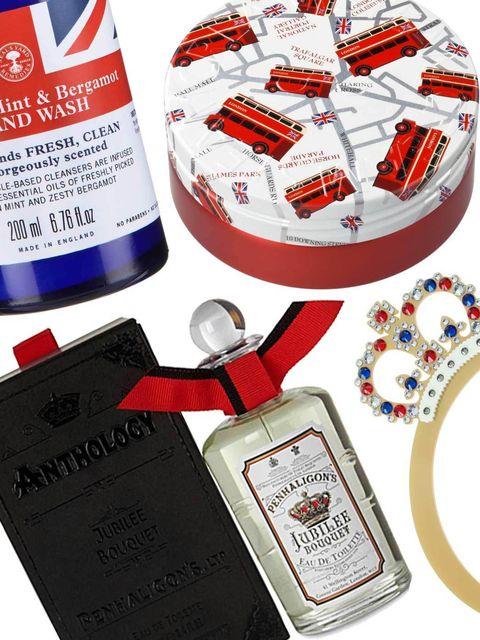 <p>In the run up to the Queen's Diamond Jubilee next month the ELLE beauty team have come over all patriotic. In response to this British pride, we're filling our make-up bags and bathrooms with limited edition beauty products emblazoned with the Crown Je