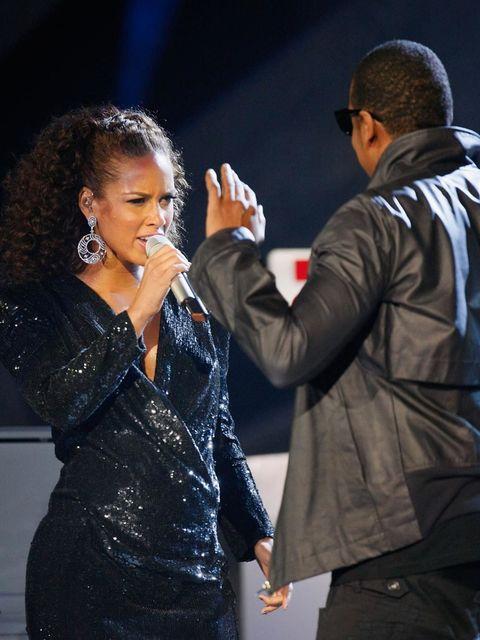 Alicia Keys and Jay-Z, 2010
