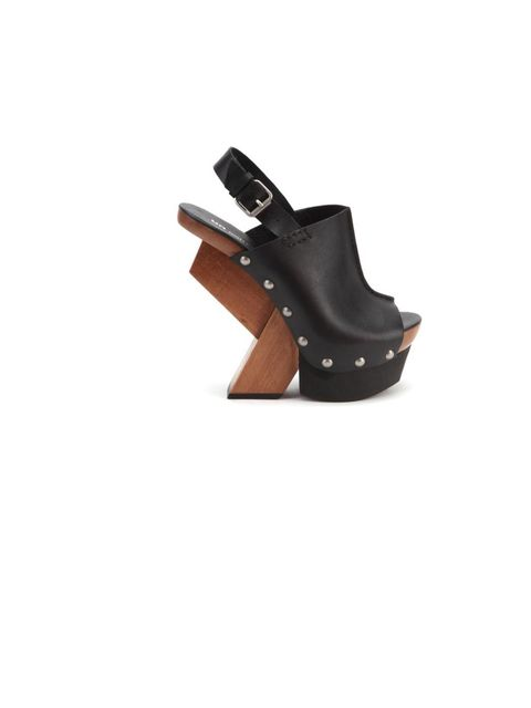 <p>United Nude 'Abstract Clog Hi' heels, £225, for stockists call 0207 240 7160</p>