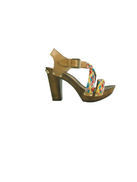 <p>Russell & Bromley sandals, £85.50, for stockists call 0207 629 6903</p>