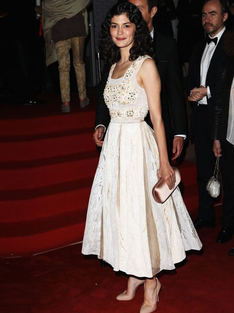 <p>Audrey Tautou at the 'Therese Desqueyroux' premiere during the Cannes Film Festival 2012</p>