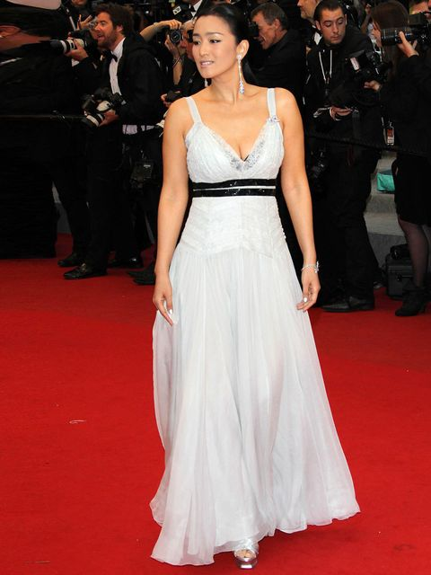 <p>Gong Li at the 'Therese Desqueyroux' premiere during the Cannes Film Festival 2012</p>
