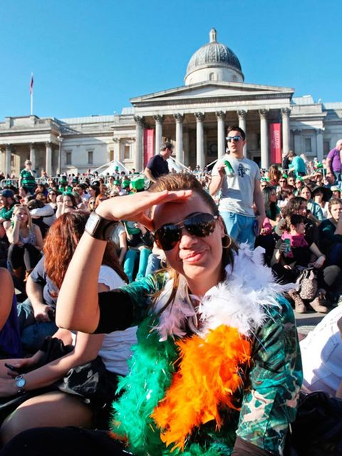 <p>EVENT: St. Patrick's Day Parade</p>  <p>It's that time of year where the Guinness is flowing and the 'kiss me I'm Irish' shirts are out. Join in with the craic at Trafalgar Square's annual Irish bash where you can expect a day of traditional music, par