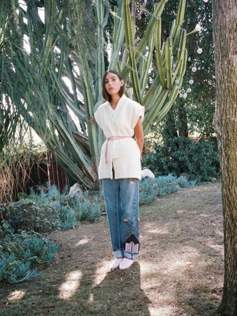 <p>Bliss And Mischief's founder, Hilary Justin, is a vintage obsessive - and it shows. Her relaxed pieces in washed out colours have a well-worn feel before you even pull them on. Take note in particular of the Western embroidered jeans.</p>  <p><a href=""