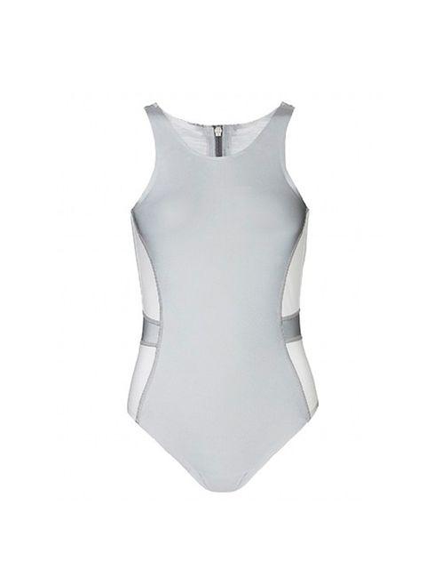 "<p><a href=""http://www.sweatybetty.com/richard-nicoll/"" target=""_blank"">SB X Richard Nicoll</a> reflective swimsuit, £200</p>"