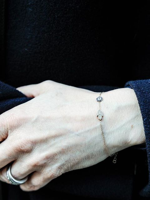 <p>Lorraine Candy - Editor in Chief</p>  <p>Marks & Spencer coat and Dinny Hall jewellery.</p>