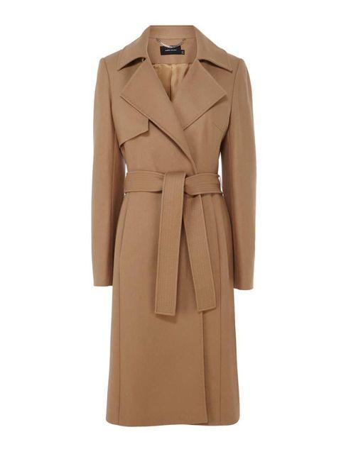 "<p>Dress up denim with a little ladylike camel.</p>  <p><a href=""http://www.karenmillen.com/ultimate-camel-coat/new-in/karenmillen/fcp-product/011CT05521"" target=""_blank"">Karen Millen</a> coat, £325</p>"