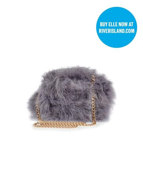 "<p>Associate Health & Beauty Editor Amy Lawrenson couldn't resist this fuzzy little chap - and while she's at River Island, she can <a href=""http://www.elleuk.com/fashion/news/River-Island-ELLEfashioncupboard-video-the-journey-of-an-edit"">pick up a copy o"