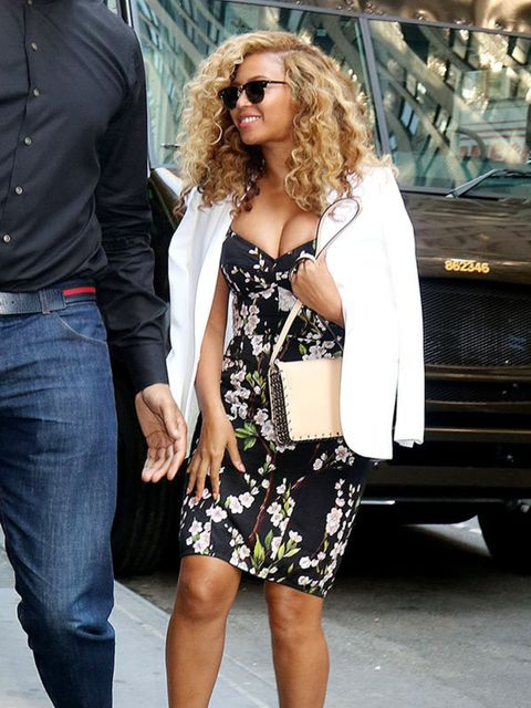 Beyonce in Dolce & Gabbana in New York, July 2015.
