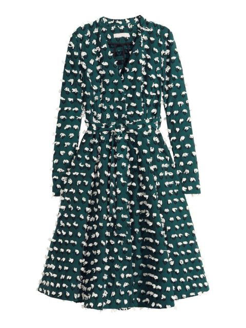 "<p>Say no to boring. Say yes to this coat.</p>  <p><a href=""http://www.hm.com/gb/product/40031?article=40031-A"">H&M</a> embroidered coat, £69.99<br />  </p>"