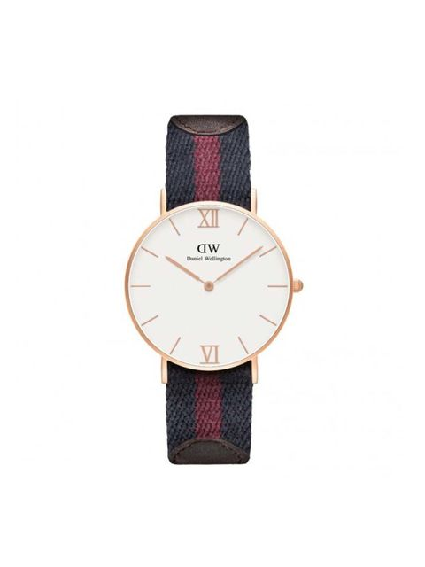 A classic with a twist.  Daniel Wellington watch, £179