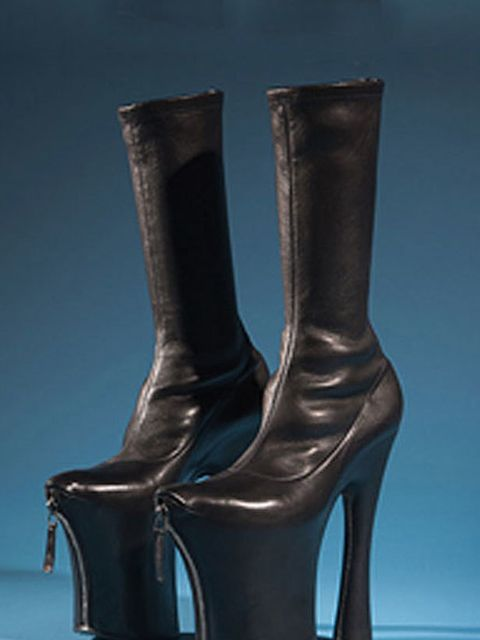 <p>Platform boots by Alexander McQueen</p>