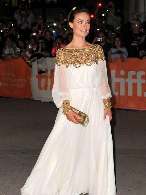 <p>Olivia Wilde attended the premiere of <em>Butter </em>at the Toronto Film Festival on 13 September 2011.</p>