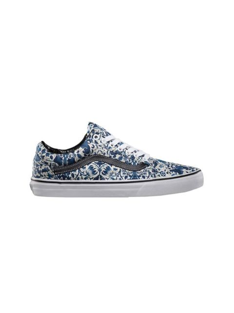 Designer Charlotte Wallace's shoe of choice for a lazy bank holiday weekend.   Vans x Liberty trainers, £55