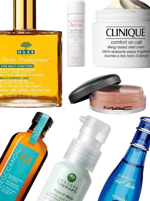 <p>Welcome to the jungle - baking hot sun, outbursts of torrential rain, stifling humidity and millions of insects (and we thought three-day festivals were bad for our beauty regimes).</p><p>Here's a round-up of team ELLE's beauty SOS products, from the u