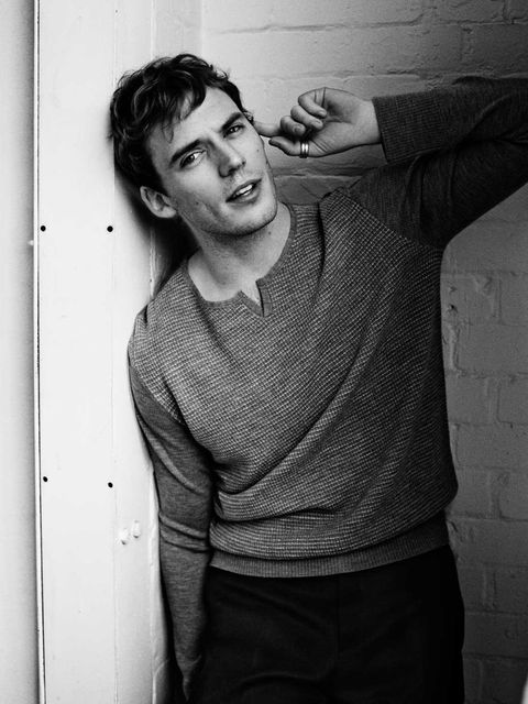 <p>Sam Claflin bringing that broody hotness in the November issue of ELLE.</p>