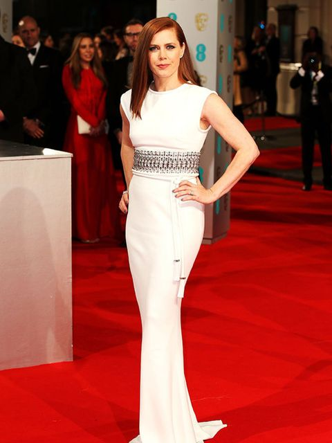 <p>Amy Adams wears Lanvin as she attends the 2015 BAFTA Awards, London.</p>