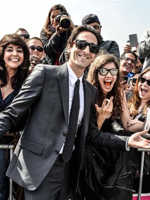 Adrian Brody at the 2015 Film Independent Spirit Awards in California, february 2015.