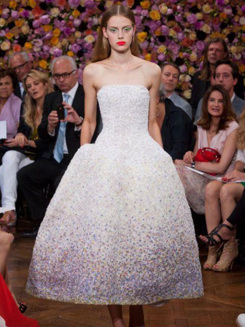 <p>Christian Dior haute couture Autumn Winter 2012 by Raf Simons</p>