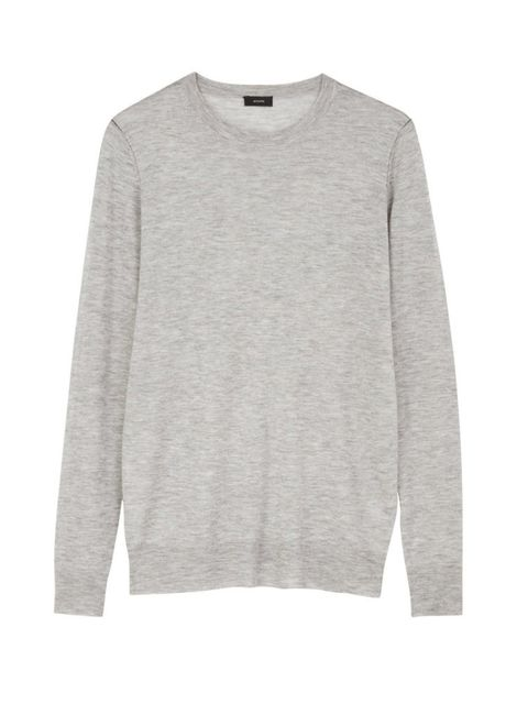 "<p>Jospeh Cashmere Jumper, £215 at <a href=""http://www.veryexclusive.co.uk/joseph-cashair-basic-sweater-ndash-grey/1461002052.prd"" target=""_blank"">veryexclusive.co.uk</a></p>  <p>Day: cashmere is an absolute wardrobe must to elevate those day time looks i"
