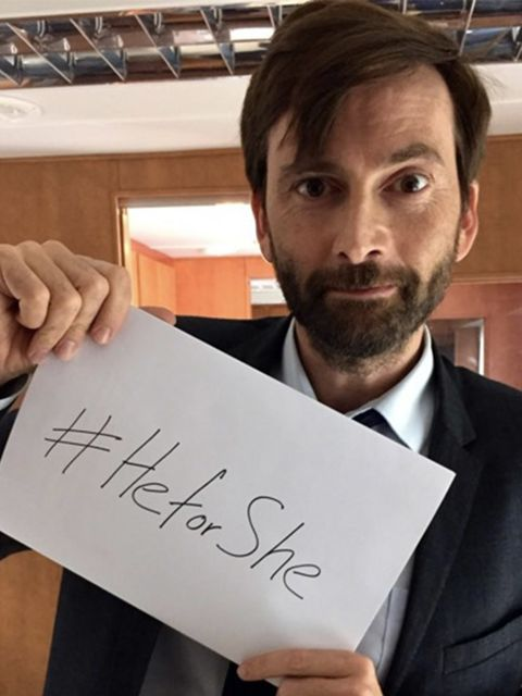 '#heforshe' - David Tennant, @dayofthefishDr