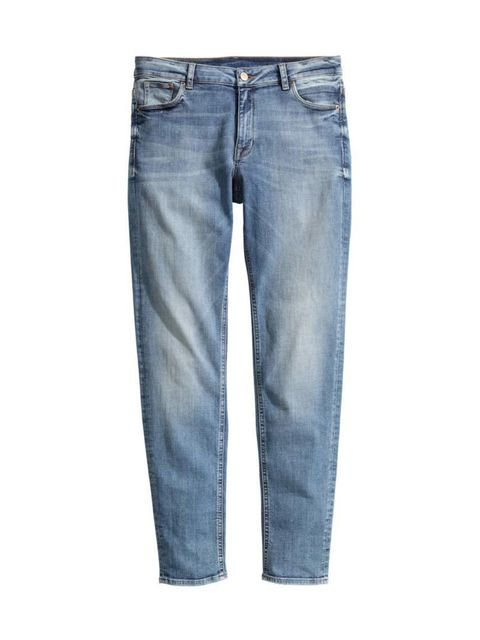 """<p>Classic blue jeans are on Editorial Assistant Gillian Brett's shopping list.</p>  <p></p>  <p><a href=""""http://www.hm.com/gb/product/43134?article=43134-B"""" target=""""_blank"""">H&M</a> jeans, £29.99</p>"""