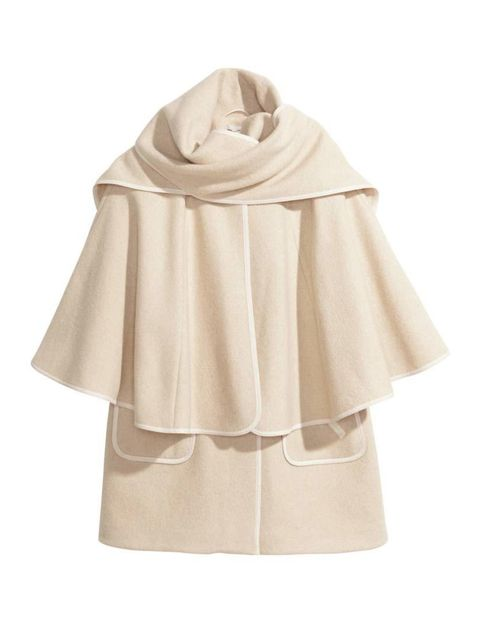 "<p>Trust H&M to turn out this season's must have cape-coat, on a budget.</p>  <p><a href=""http://www.hm.com/gb/product/61254?article=61254-A"" target=""_blank"">H&M</a> coat, £79.99</p>"