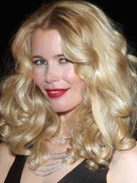 """<p><a href=""""http://www.elleuk.com/beauty/celebrity-secrets/claudia-schiffer"""">Click here to read Claudia's beauty secrets</a>The key to getting this look right is to not be a perfectionist! If your hair curls easily and holds its style for hours then tong"""