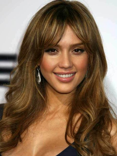 """<p><a href=""""http://www.elleuk.com/starstyle/style-files/jessica-alba"""">Click here to see Jessica's Style File</a>For fine hair, curl it last minute and keep a mini hair spray in your clutch to refresh the bounce during the evening, before you leave Elnett'"""