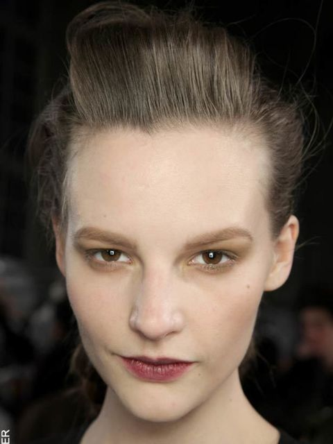 <p>Muted metals seen at Kenzo, autumn/winter 2011.</p>