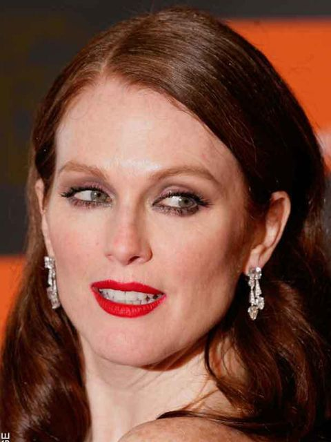 """<p><a href=""""http://www.elleuk.com/news/beauty-news/baftas-beauty-ladies-in-red/%28gid%29/736607"""">Julianne Moore at the 2011 Baftas</a></p>"""