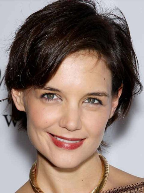 <p>Katie Holmes clearly takes her beauty advice from new best friend Victoria Beckham</p>