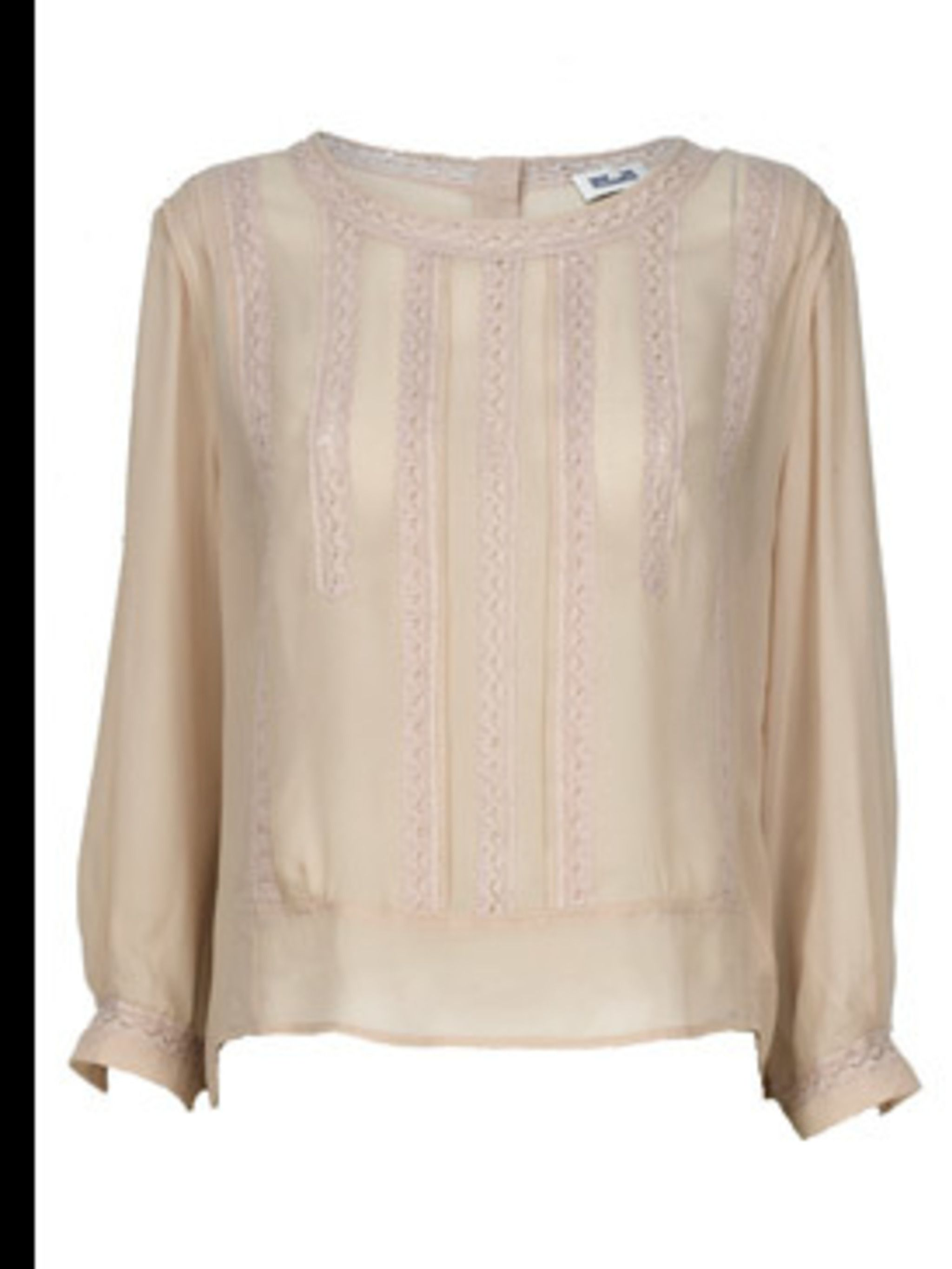 <p>Blouse, £189.00 by Baum Und Pferdgarten at Fenwicks. For stockists call 0207 629 9161</p>