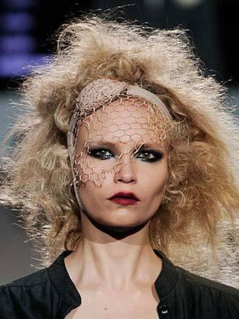 <p><strong>The Wild Bunch</strong></p><p>At hip designer Erin Fetherston hair was crimped and teased to recreate the eighties look of London's new romantics. For Marc Jacobs too, hairstylist Guido took a trip back to the bad taste decade, creating a varie
