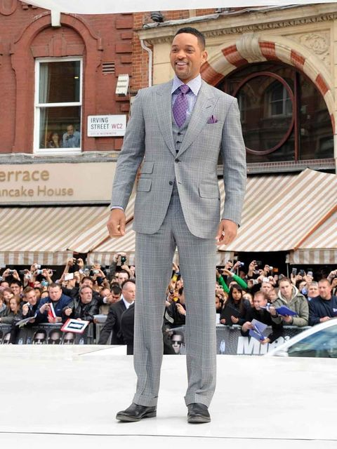 <p>Will Smith at the Men in Black III London Premiere</p>