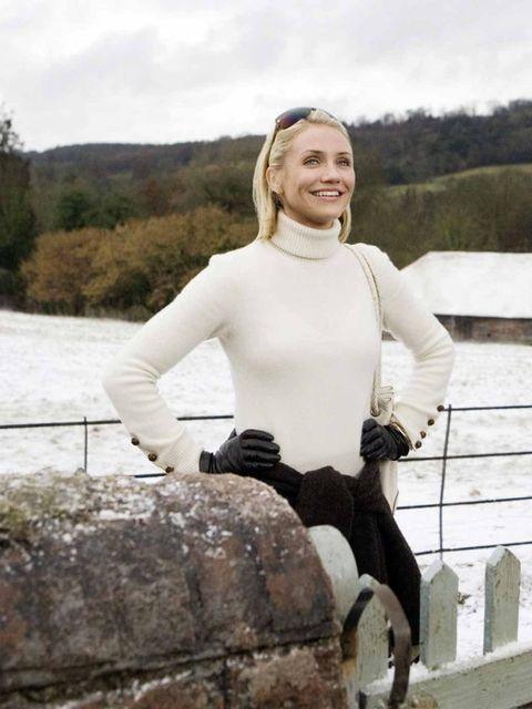 <p>Cameron Diaz in 'The Holiday', 2006. </p>