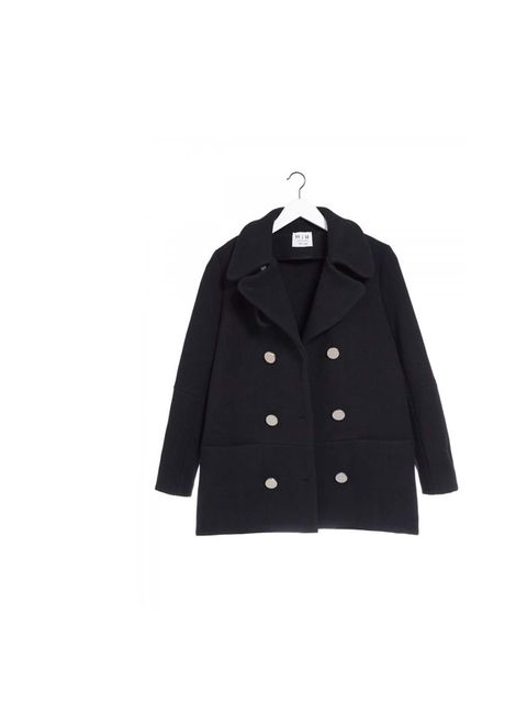 "<p>There's something innately cool about a peacoat - all androgynous simplicity, no fuss or frills. </p><p><a href=""http://www.mih-jeans.com/just-in/the-peacoat-warm-navy-waffle.html"">MiH</a> peacoat, £445</p>"