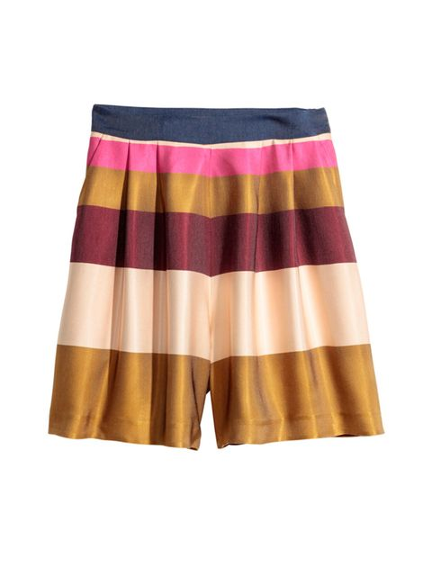 """<p>Executive Fashion & Beauty Director Kirsty Dale is prepped for the heatwave on Saturday with these colour pop shorts.</p>  <p></p>  <p><a href=""""http://www.hm.com/gb/product/20736?article=20736-A"""" target=""""_blank"""">H&M</a> Shorts, £39.99</p>"""
